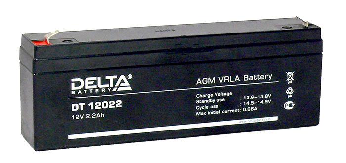Аккумулятор Delta 12022 2,2